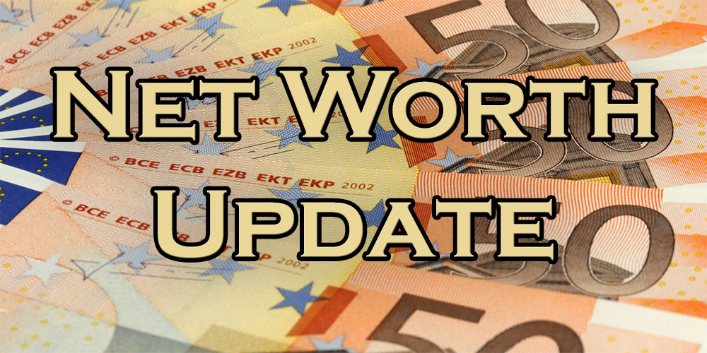 This month's net worth update!