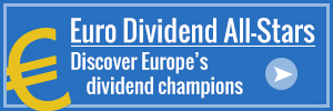 Find out which European companies have maintained and increased their dividends the most!