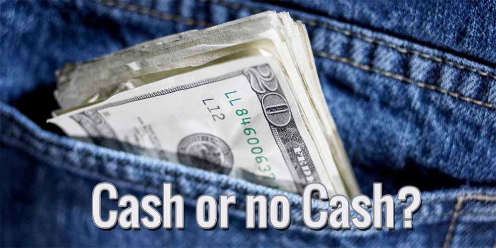 Should You Hold on to Large Pockets of Cash?