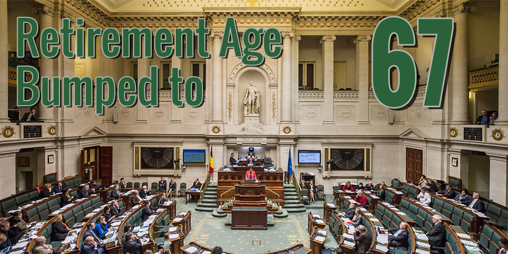 Outrage in Belgium, Federal Government Raises Retirement Age to 67