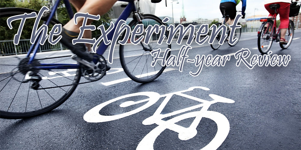 Find out what the first six months into my cycling experiment have been like!